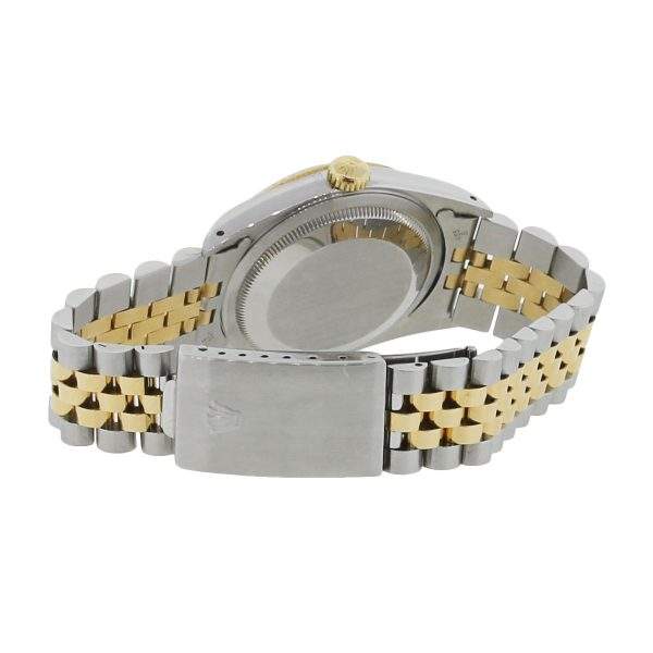 Rolex Two Tone Datejust White Yellow