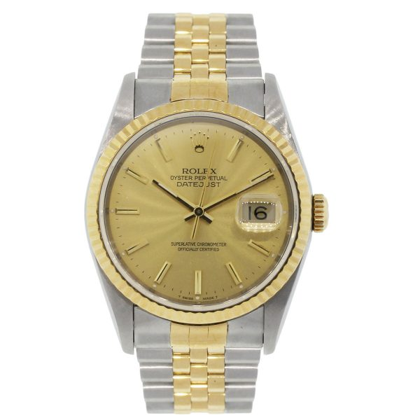 Rolex Champagne Dial Watch