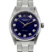 Rolex 6426 Oyster Royal Precision Blue Dial Midsize Watch