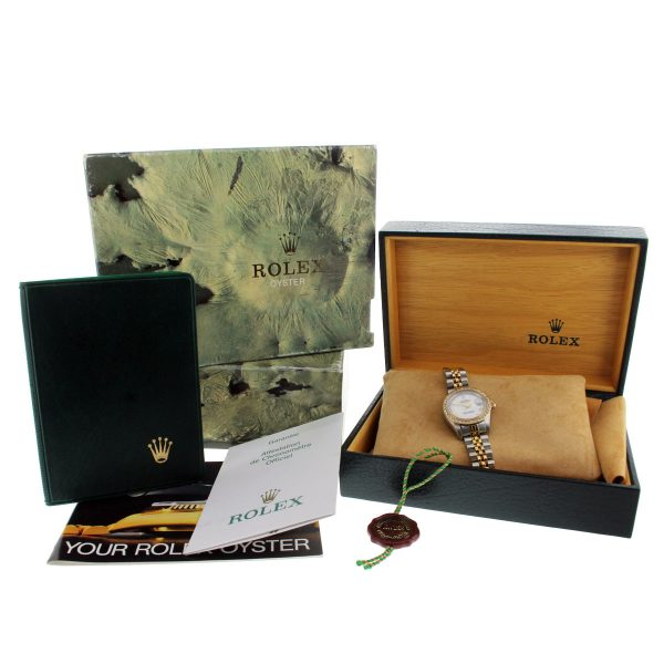 Rolex complete box and papers