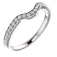 Ever & Ever Diamond Accented Wedding Band