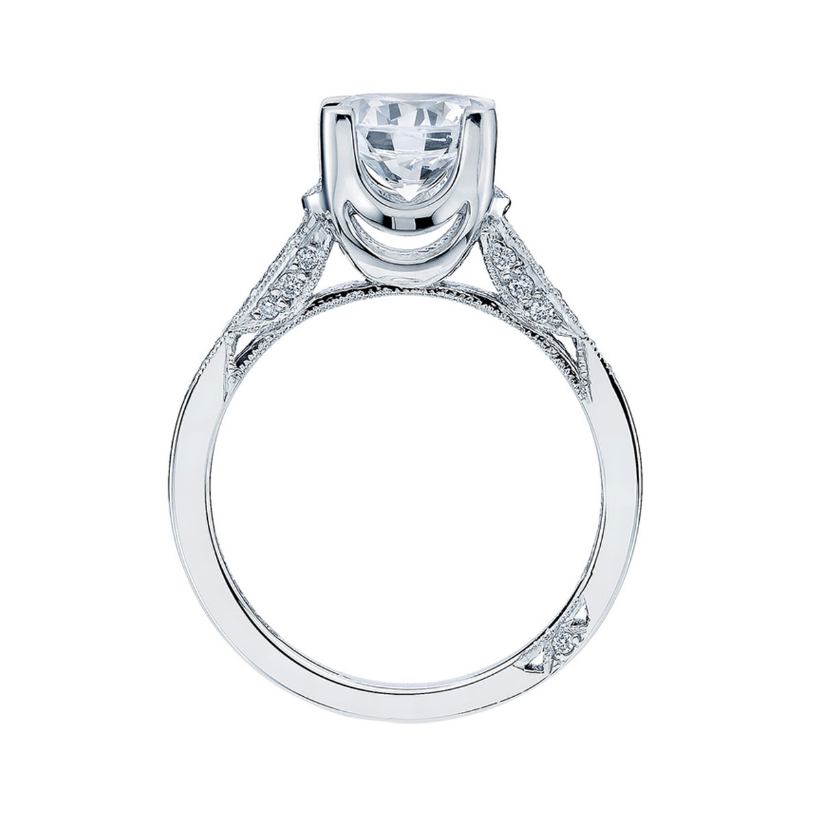 Tacori Engagement Rings Platinum 25ctw Diamond