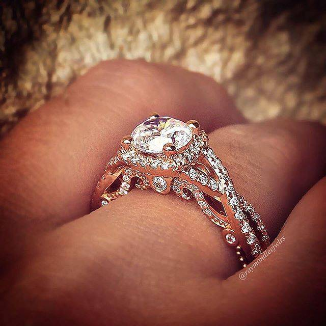 Top 10 Twisted Shank Engagement Rings The Rose Gold Beauty
