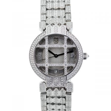 Harry Winston All Diamond Grill Watch