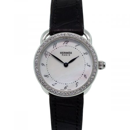 Hermes Diamond Bezel watch