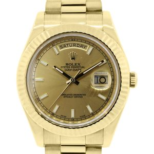 Rolex Day Date II Yellow Gold watch