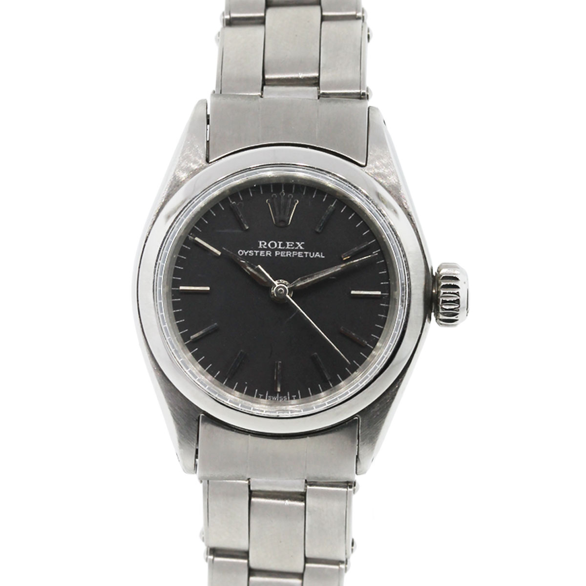 rolex 6623 oyster perpetual non date ladies watch. Black Bedroom Furniture Sets. Home Design Ideas