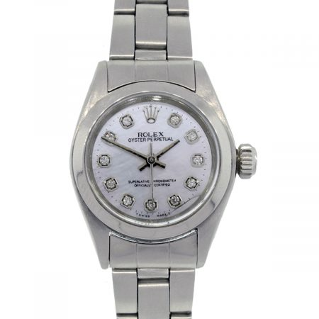 Rolex 6918 ladies mother of pearl watch