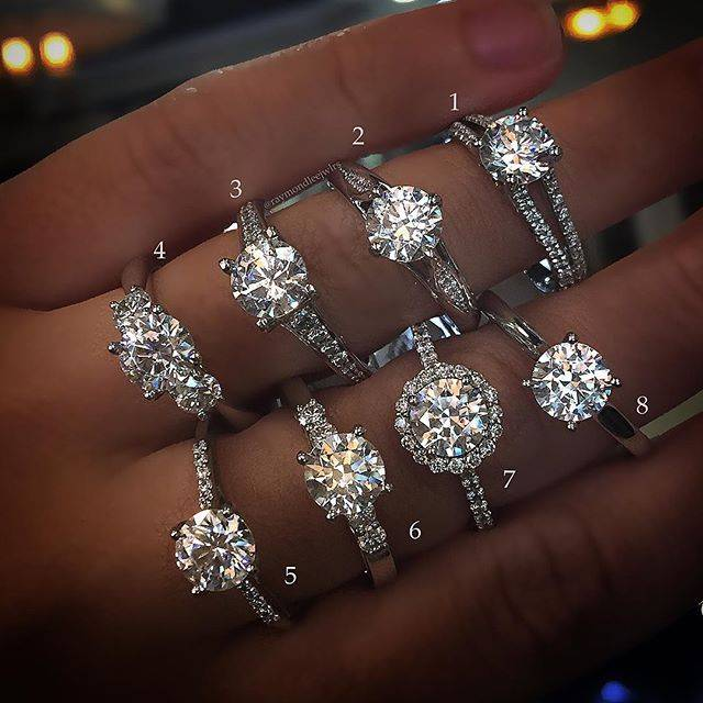 Gorgeous Engagement Rings Available Oct 3rd At Our Trunk Show