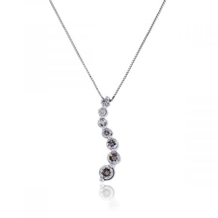 Round Brillant Diamond Pendant