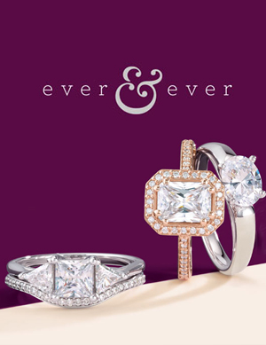 Ever and Ever Engagement Rings and Wedding Bands