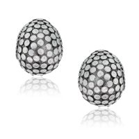John Hardy Sterling Silver Dot Collection Earrings