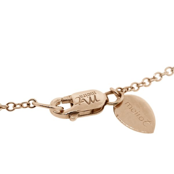 rose gold meira T necklace