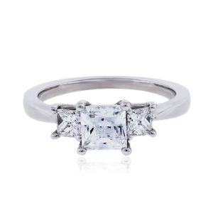 RITANI Princess Cut Diamond Engagement Ring