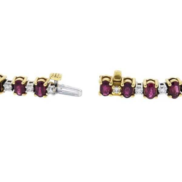 Yellow Gold and White Gold Bracelet
