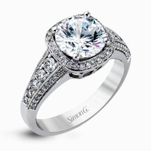 Simon G Mr2181 Engagement Ring Boca Raton
