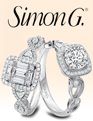 Simon G Engagement Rings and Wedding Bands