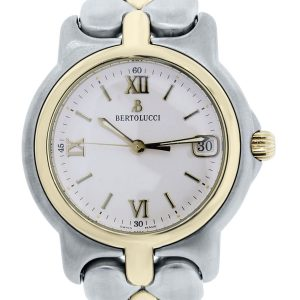 Berolucci Pulchra two tone cream dial watch