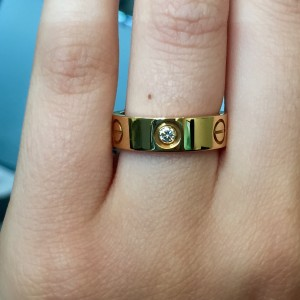 Cartier yellow Gold Love Ring
