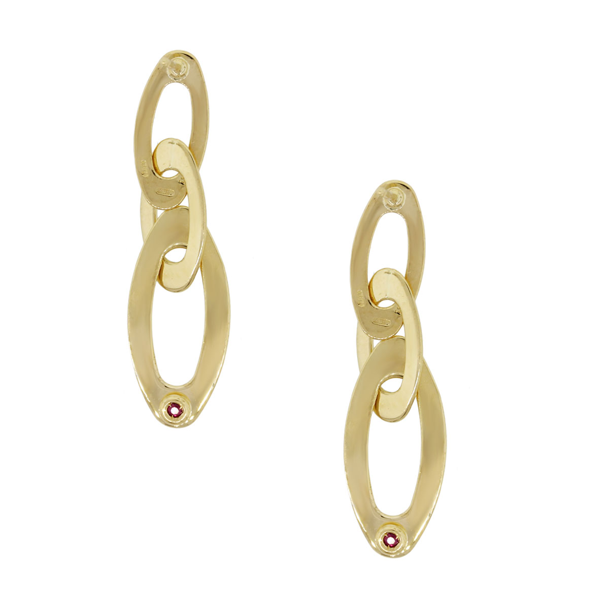 Details about  /Roberto Coin Chic /& Shine 18K Yellow Gold Earrings