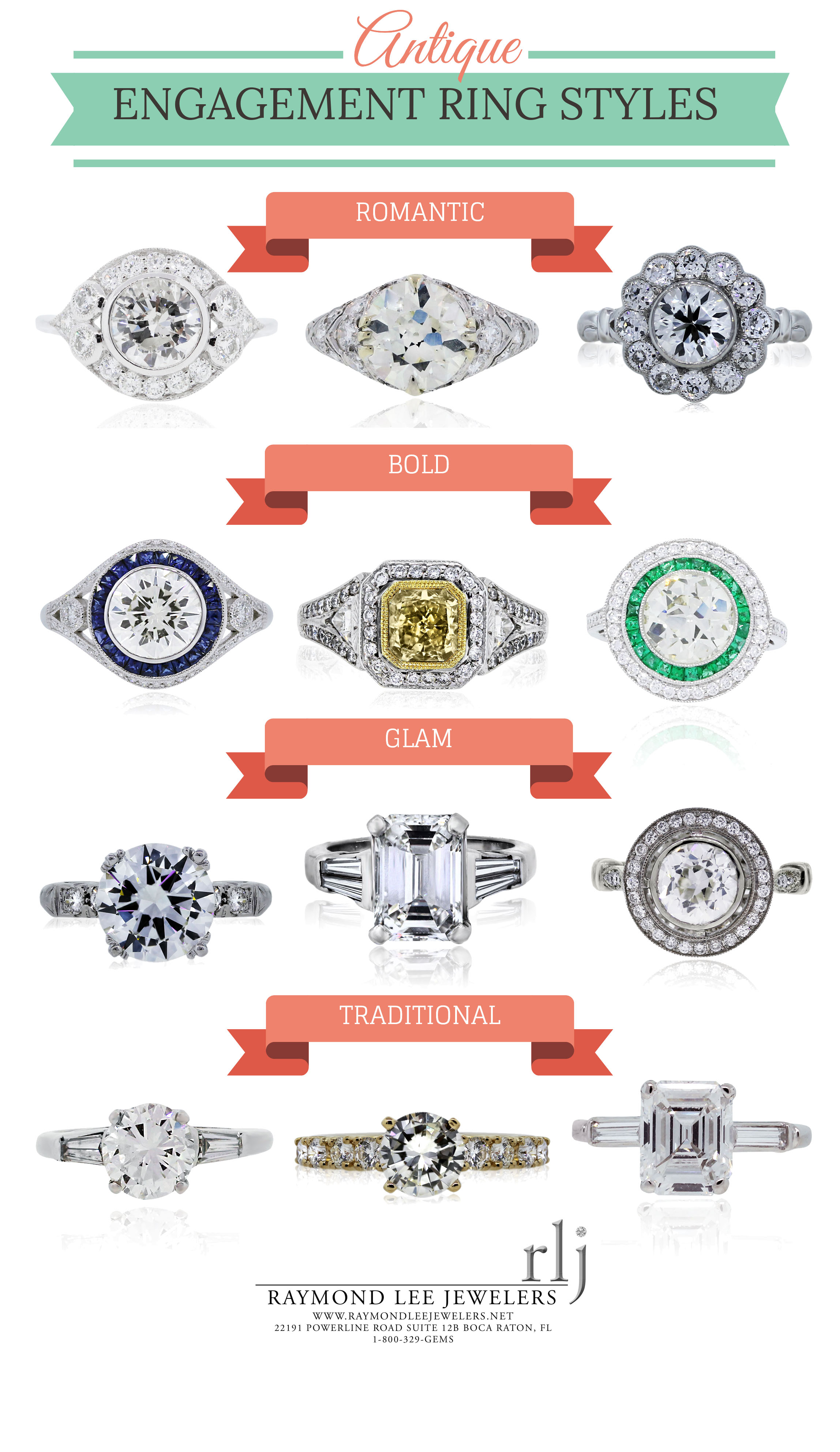 Guide to Antique Engagement Rings