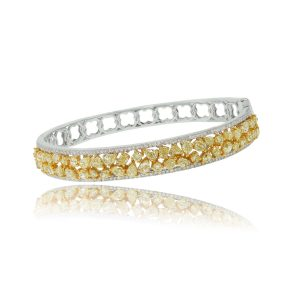 Fancy Yellow Diamond Bangle Boca Raton