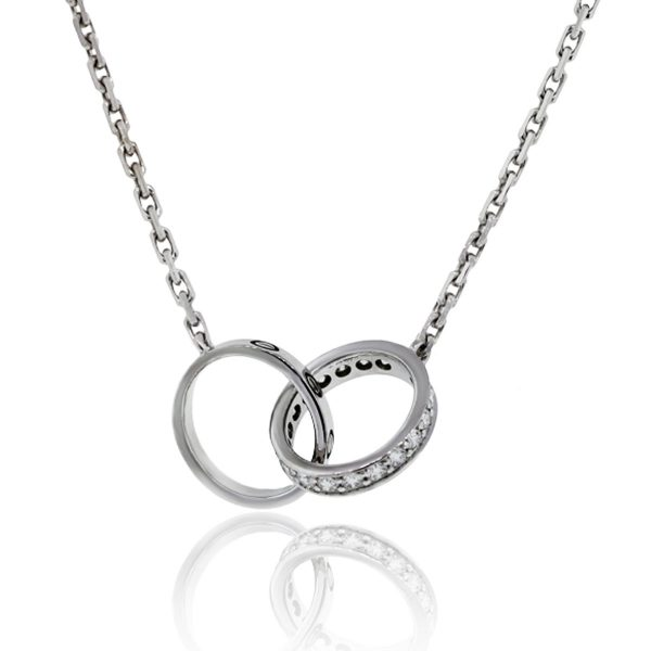7941f401648895 Cartier Gold Love Necklace with 18k White Gold and Diamond