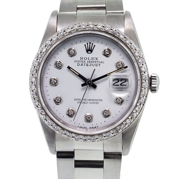 Diamond Datejust Rolex Watch