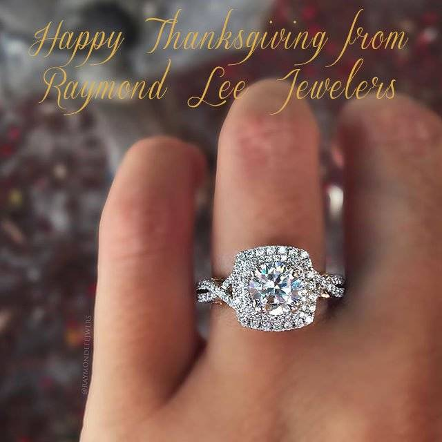 Happy Thanksgiving from Raymond Lee Jewelers