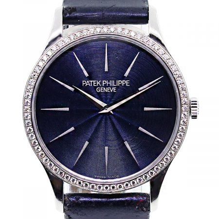 Ladies Patek Philippe Diamond Bezel Watch and 18k White Gold