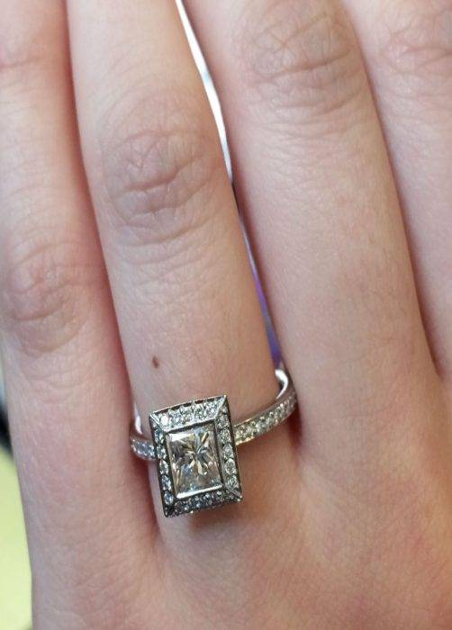 $ Engagement Ring And Under Eye Candy Raymond Lee Jewelers