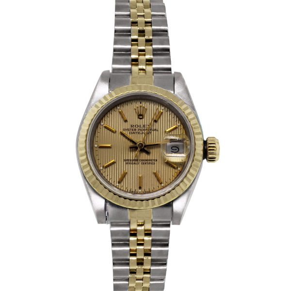 Rolex 69173 Datejust Watch Tapestry dial
