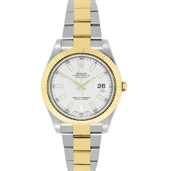 Rolex 116333 DateJust II Two-Tone Ivory Dial Watch
