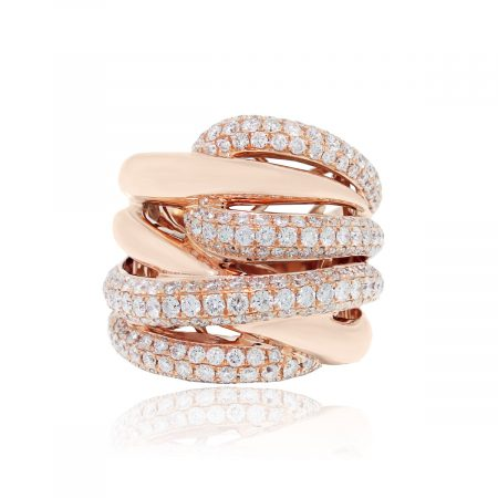 Rose Gold Diamond Ring Boca Raton