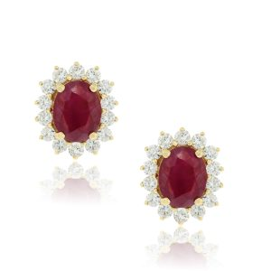 Ruby Earrings Boca Raton