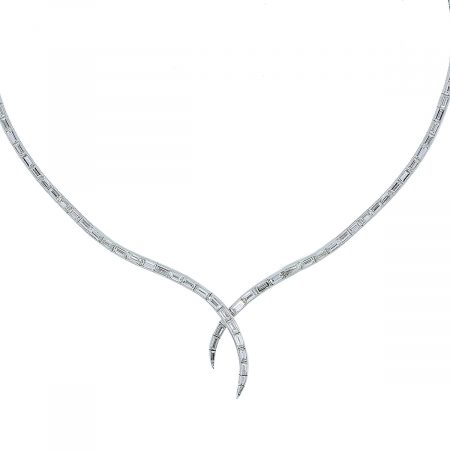 Platinum Diamond Necklace Boca Raton