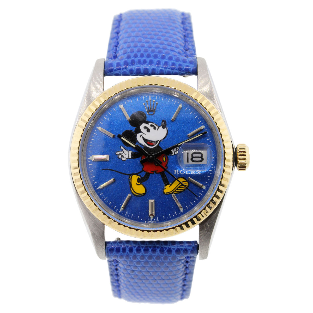 Rolex mickey mouse datejust