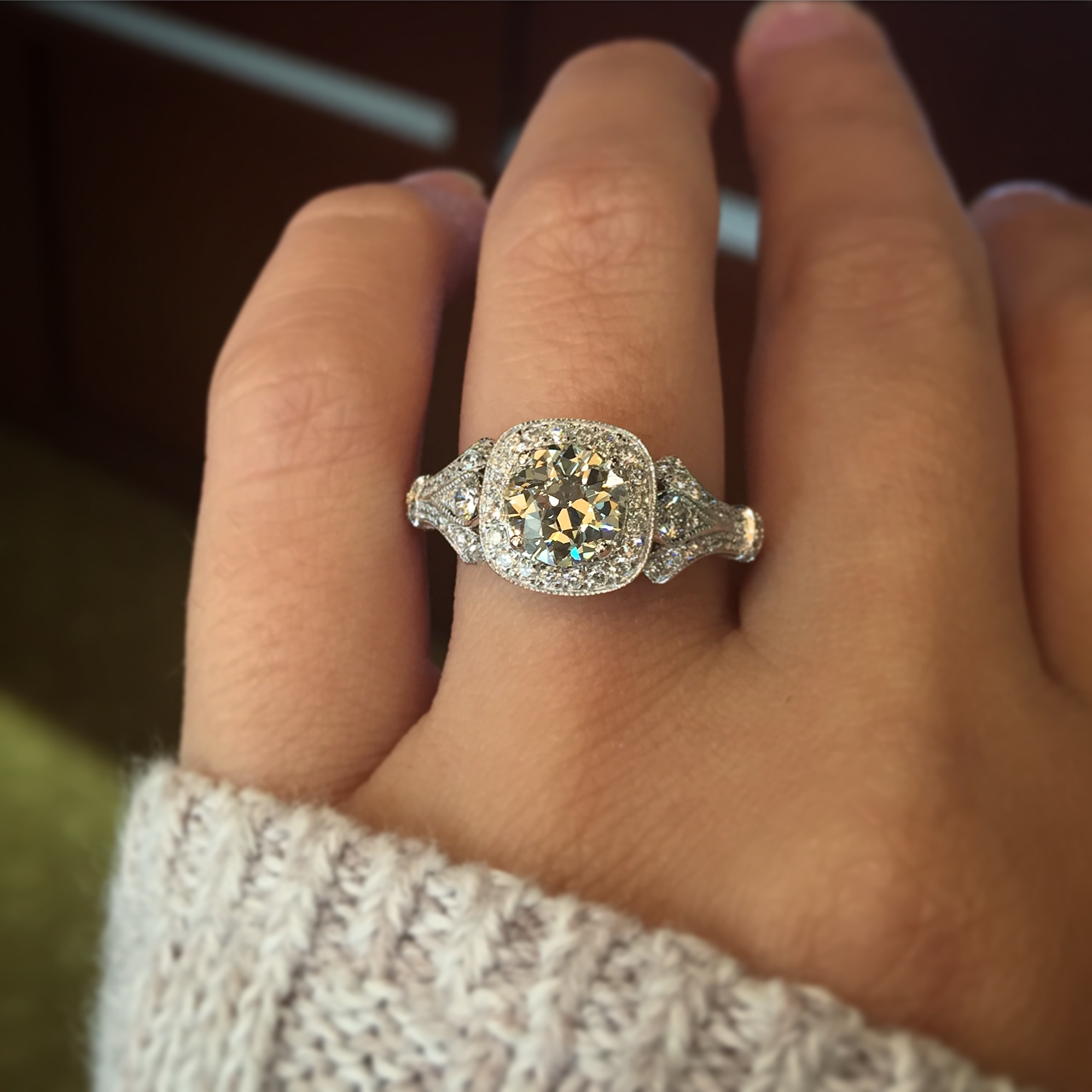 Gabriel & Co Engagement Rings 14k White Gold 0 62ctw Mounting