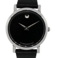 Movado Stainless Steel Museum Dial Ladies Watch