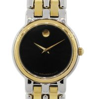 Movado 81-25-825 Two Tone Museum Dial Watch