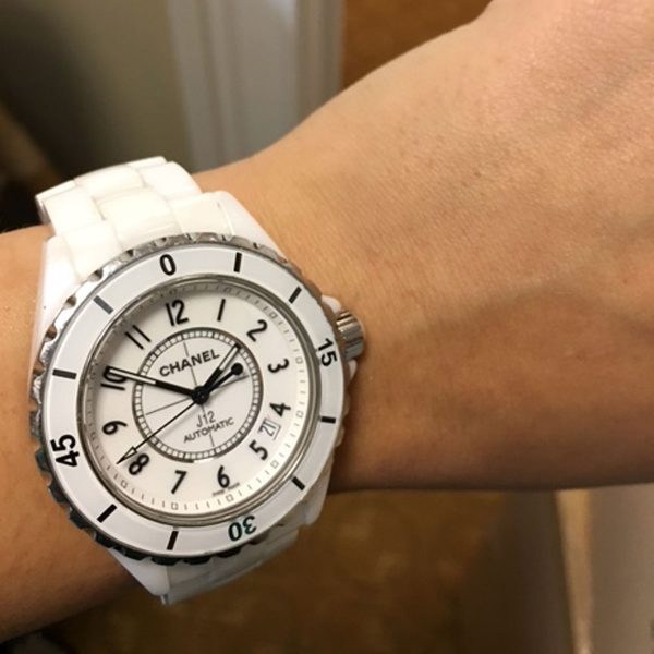 Chanel J12 White Automatic 38mm Ladies Watch
