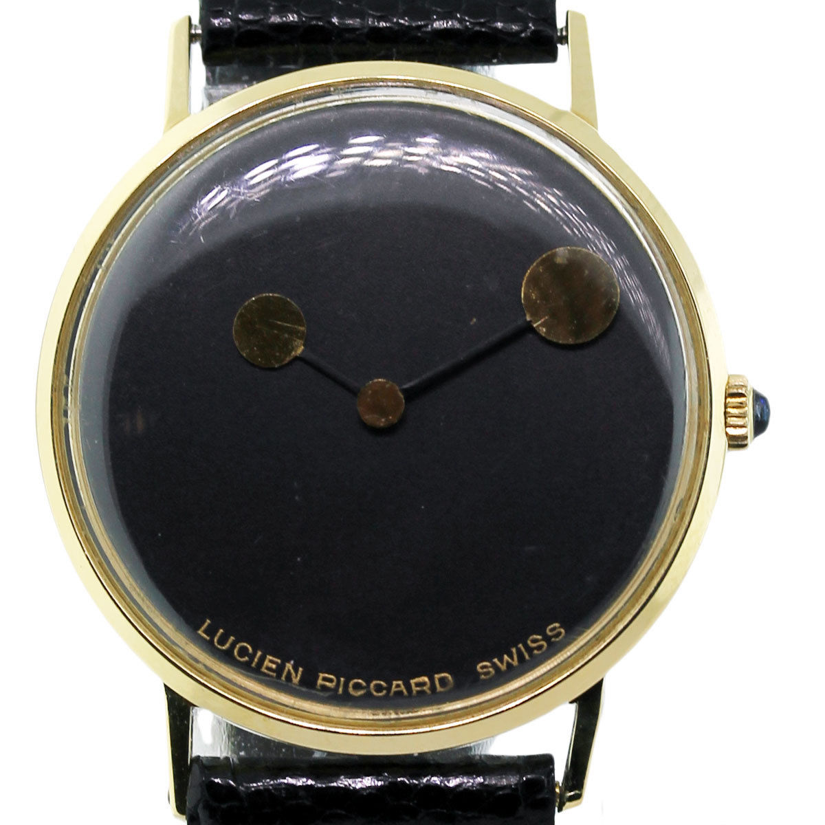 lucien piccard 14k gold vintage mens watch raymond lee jewelers lucien piccard 14k gold vintage mens watch