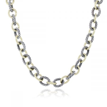 David Yurman Link Necklace