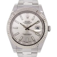 Rolex 116334 Datejust II Silver Dial Stainless Steel Watch
