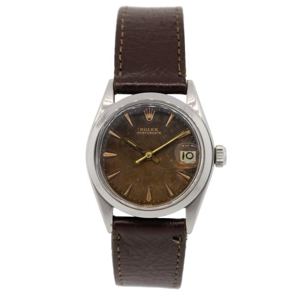 Rolex Oysterdate Tropical Dial factory dial