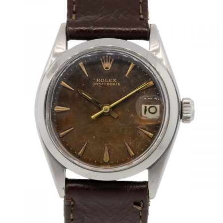 Rolex Oysterdate Tropical Dial 6466 vintage watch