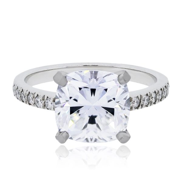 2c5a099da94c Tiffany   Co. Rings NOVO Square Cushion Diamond Engagement Ring
