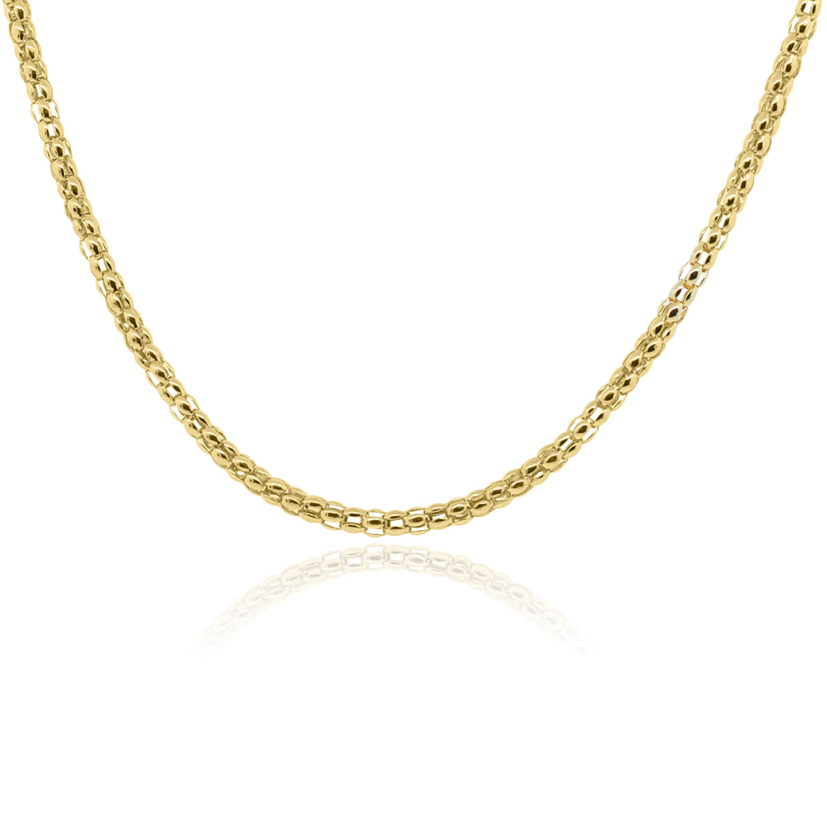 """18k Yellow Gold Thick Chain 20.5"""" Necklace"""