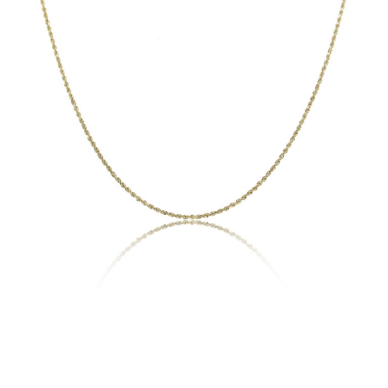 14k Yellow Gold Thin