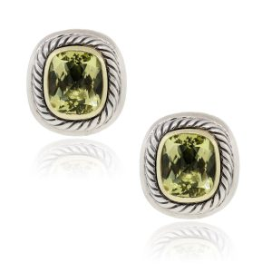 citrine earrings, david yurman look for less, citirne jewelry boca raton